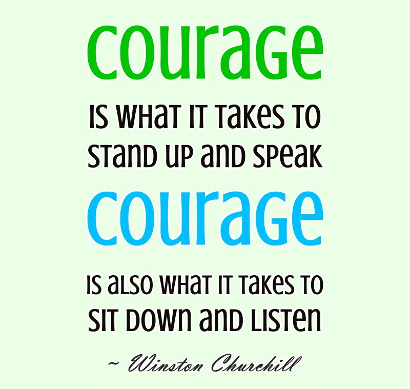 Marvelous Courage Quotes