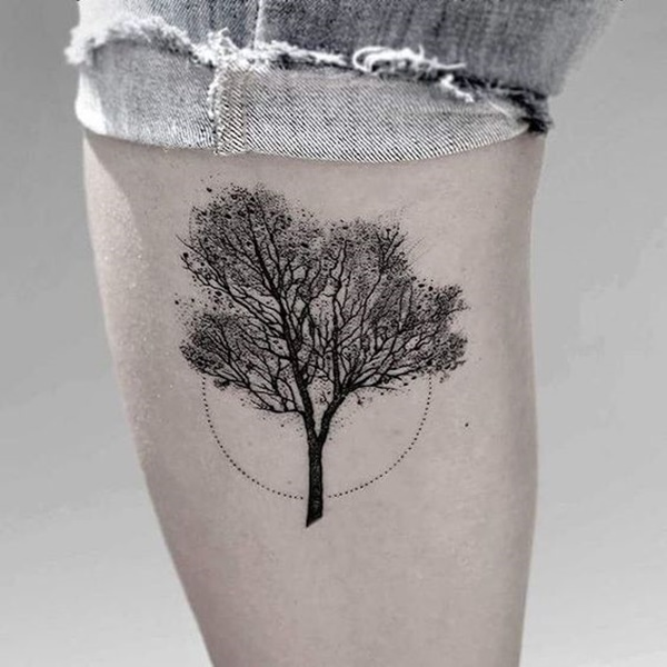Marvelous Dotwork Tattoos Design