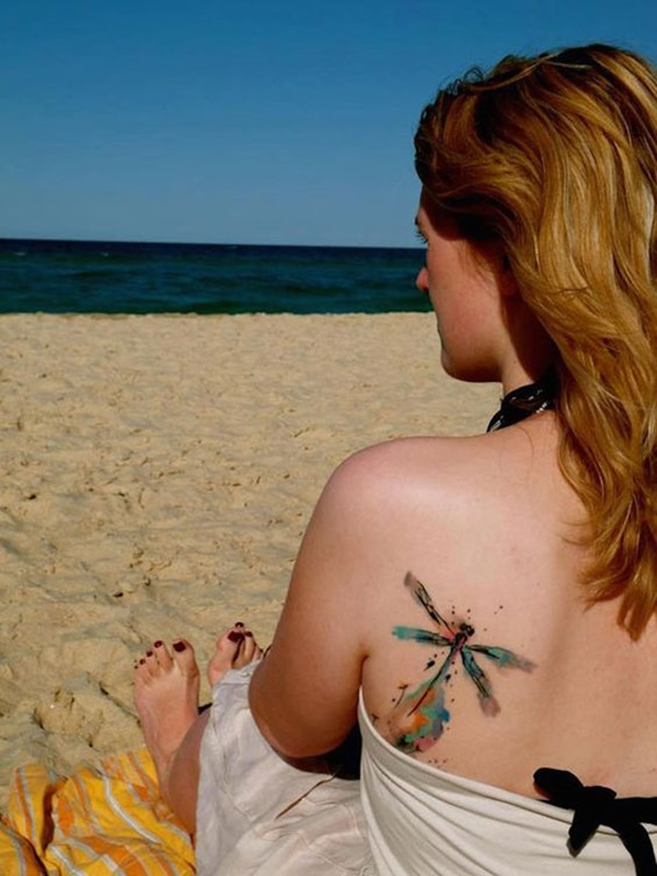 Marvelous Dragonfly Tattoo