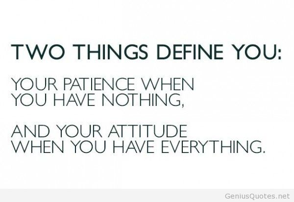 Mind Blowing Attitude Sayings and Quotations