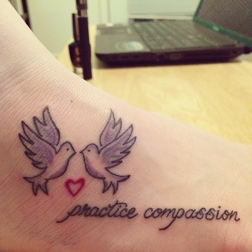 Mind Blowing Dove Tattoo Designs