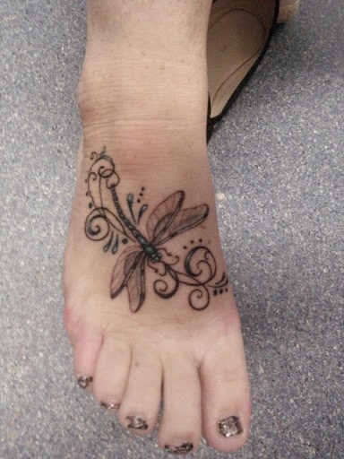 New Dragonfly Tattoo Ideas