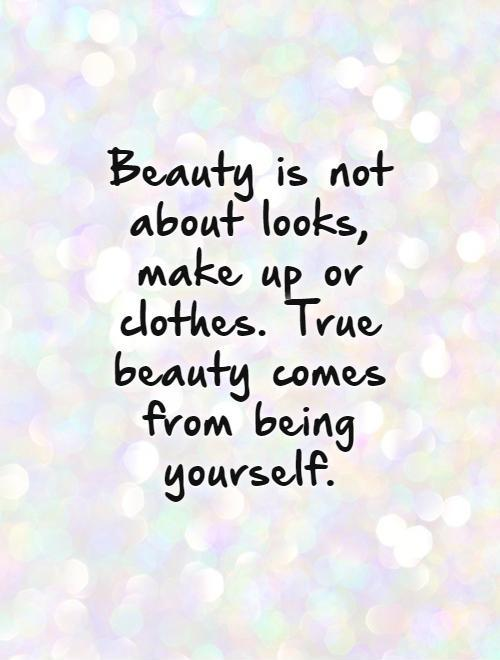 Outstanding Beauty Quotations