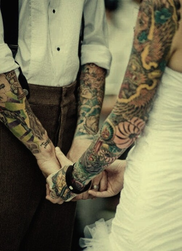 Outstanding Couple Tattoo