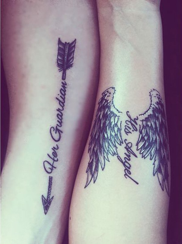 Outstanding Couple Tattoos Designs