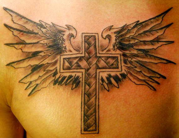 Outstanding Cross Tattoos Designs