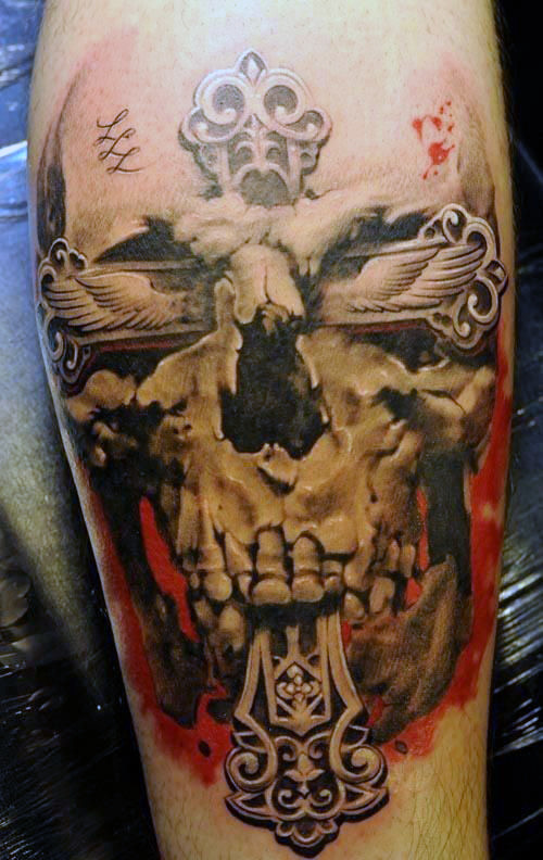 Outstanding Cross Tattoos