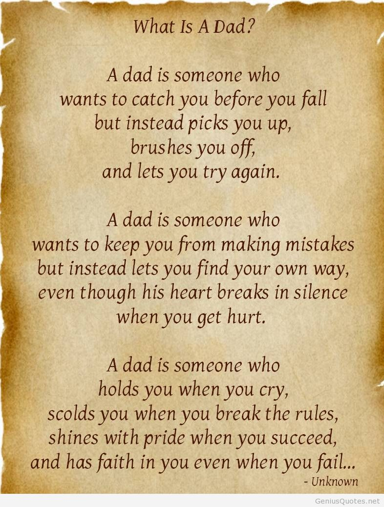 Outstanding Dad Quotes