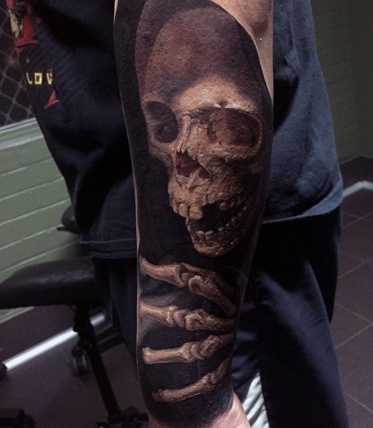 Outstanding Death Tattoos Designs