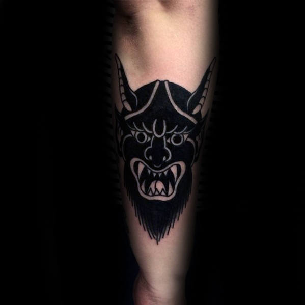 Outstanding Devil Tattoo Design