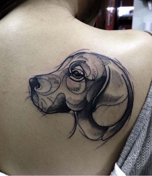 Outstanding Dog Tattoo Designs