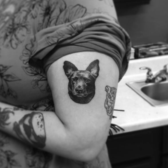 Outstanding Dog Tattoos Designs