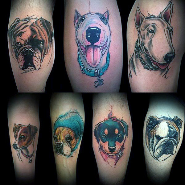 Outstanding Dog Tattoos