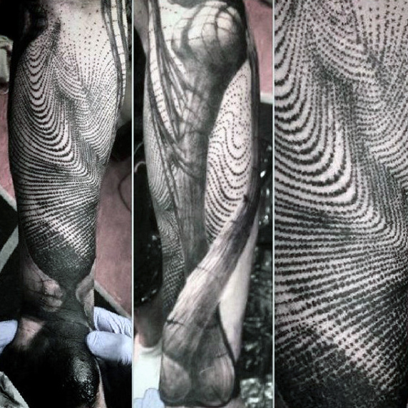 Outstanding Dotwork Tattoos