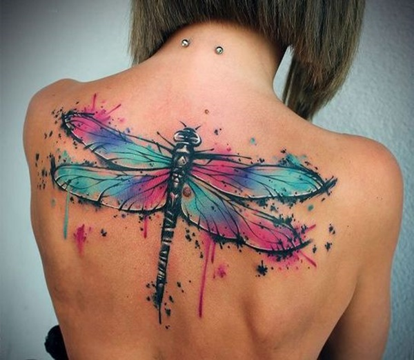 Outstanding Dragonfly Tattoo Design