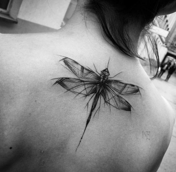 Outstanding Dragonfly Tattoos Design