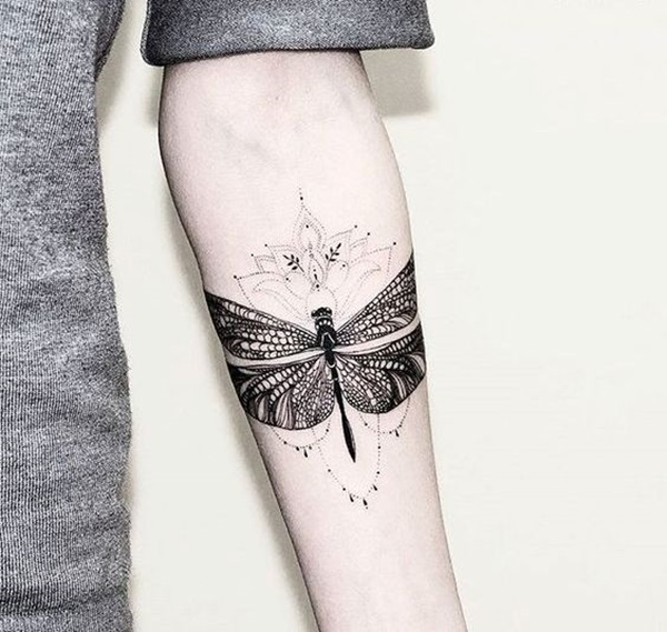 Stunning Dragonfly Tattoo Designs