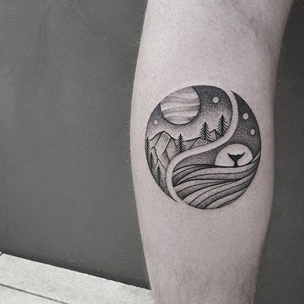 Superb Dotwork Tattoo Designs