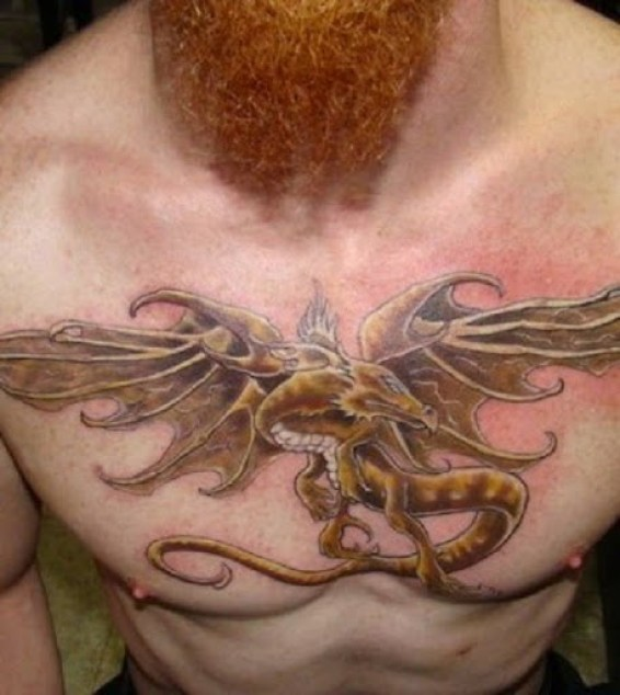 Superb Dragon Tattoo Design