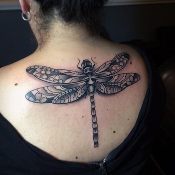 Superb Dragonfly Tattoos Designs