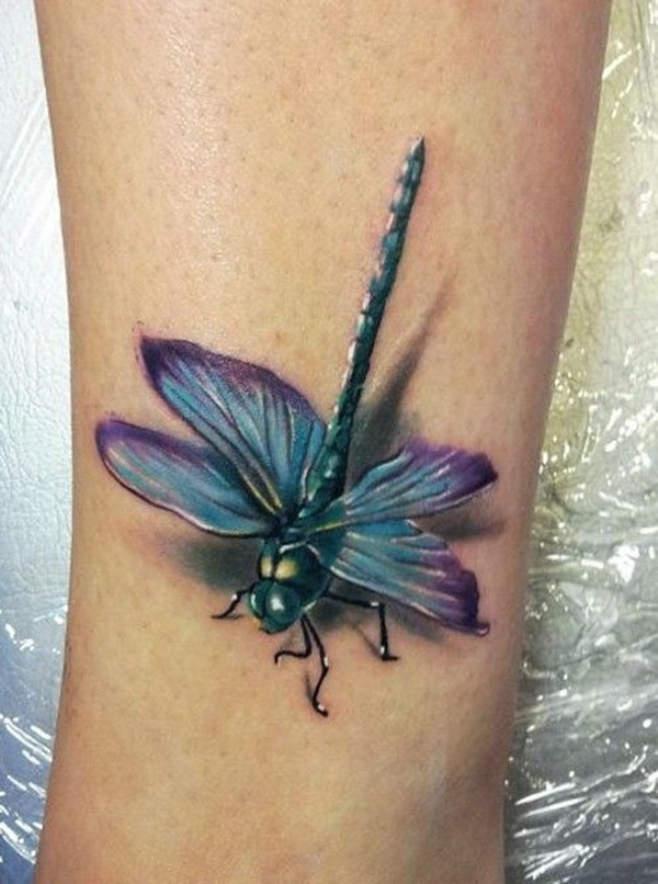 Superb Dragonfly Tattoos