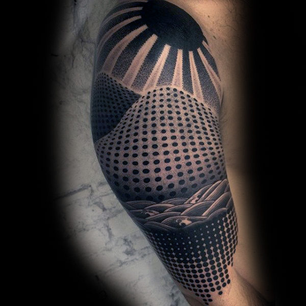 Terrific Dotwork Tattoos Ideas