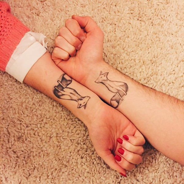 Wonderful Couple Tattoos