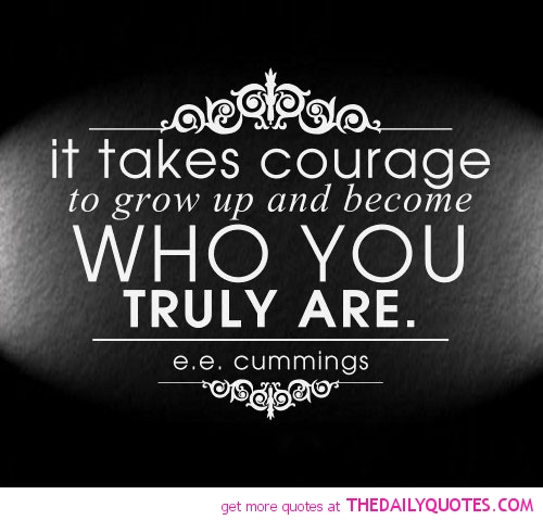 Wonderful Courage Sayings