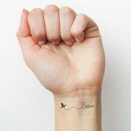 Wonderful Dove Tattoo