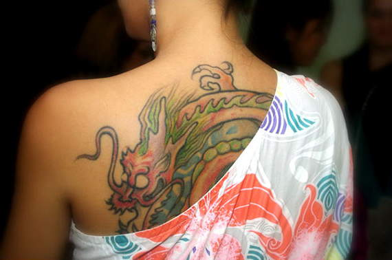 Wonderful Dragon Tattoos Design