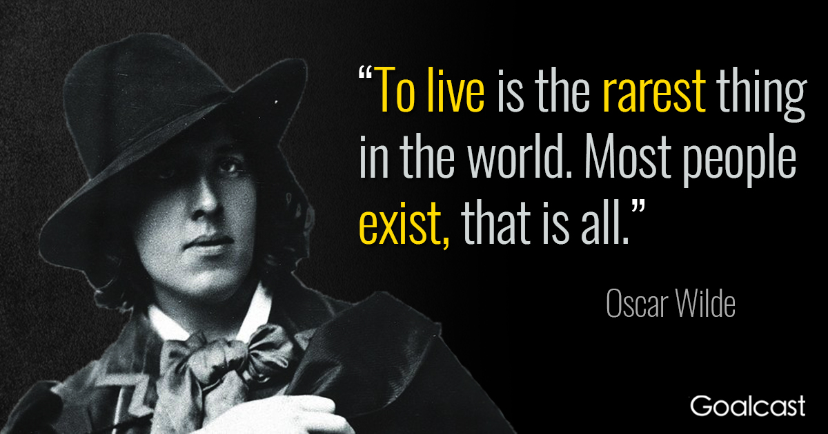 Best Oscar Wilde Quotes On Live