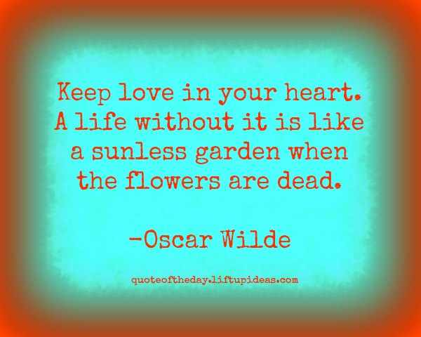 Wonderful Oscar Wilde Images About Love In Heart