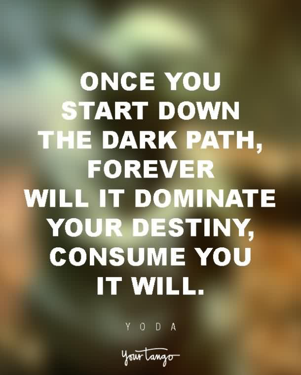 Inspirational Quotes Destiny: Yoda Inspirational Pictures About Destiny